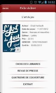 Le choix des libraires- screenshot thumbnail