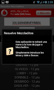 Solve Mezcladitos - screenshot thumbnail