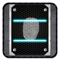 Metal FingerPrintSecurity Lock icon