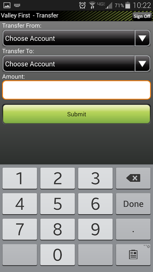 Valley First Credit Union - screenshot