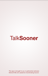 TalkSooner- screenshot thumbnail