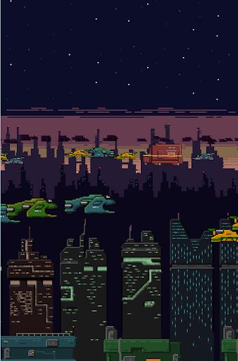 NeoPixel City Live Wallpaper