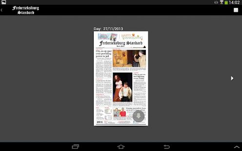 Fredericksburg Standard - screenshot thumbnail