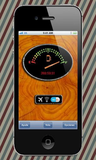 fuelPhonePRO battery wifi stat