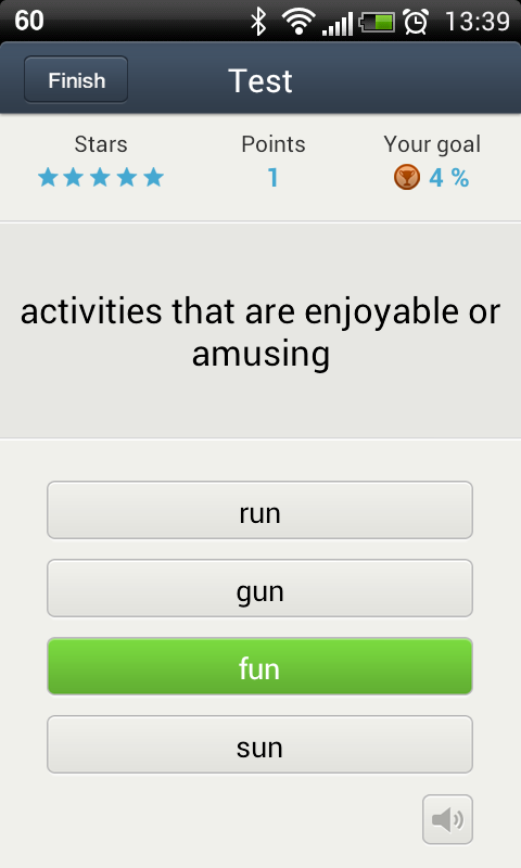 Vocabla: English vocabulary - screenshot