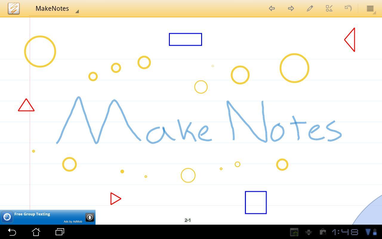 MakeNotes (beta)- screenshot