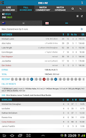 The ESPNcricinfo Cricket App Screenshot 12