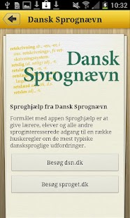 Sproghjælp – miniaturescreenshot