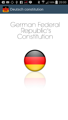 Deutsch constitution