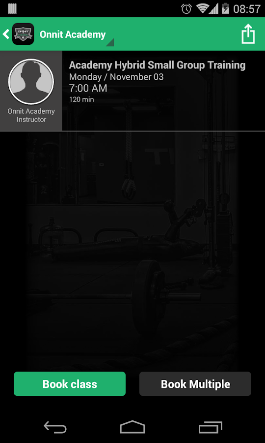 Onnit Academy Gym- screenshot