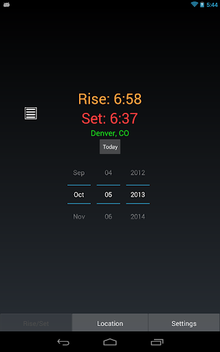 【免費書籍App】日出日落計算器-APP點子