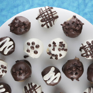 Chocolate Chip Cookie Dough Truffles.