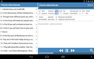 Screenshot of Inglese basico 1