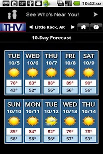 THV Weather - screenshot thumbnail