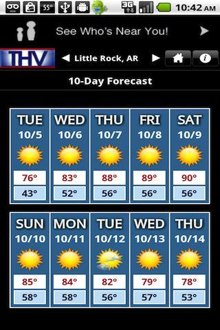 THV Weather- screenshot