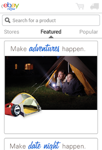 eBay Now - screenshot thumbnail