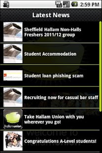 Hallam Union- screenshot thumbnail