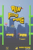 Screenshot of Air Ping Pong