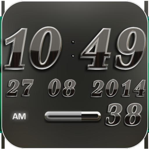 Digi Clock Widget Maybach