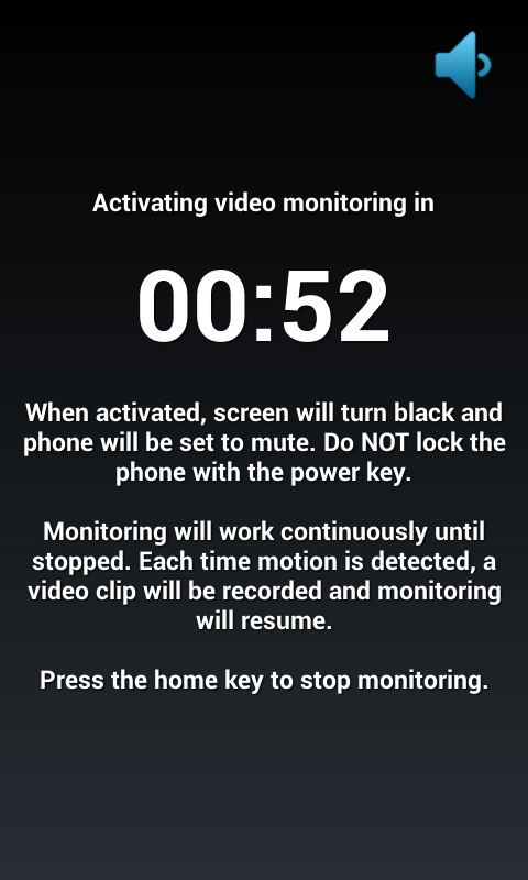Motion Spy Video Recorder - screenshot