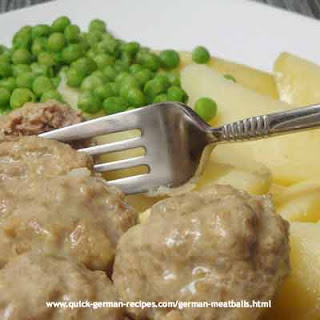 Mutti's German Meatballs