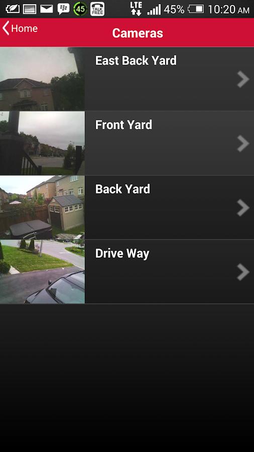 Rogers Smart Home Monitoring - screenshot