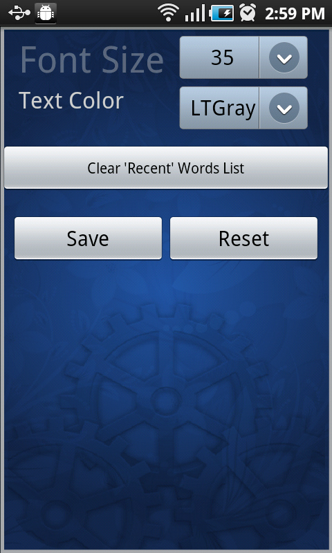 English Urdu Dictionary FREE- screenshot