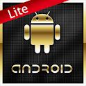 Gold Droid Lite GO Launcher EX logo
