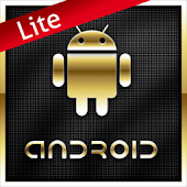 Gold Droid Lite GO Launcher EX