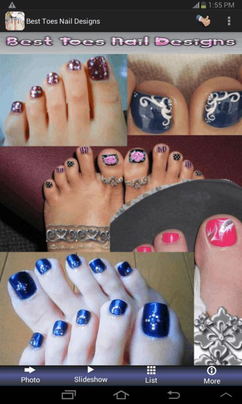 Best Toes Nail Designs - screenshot