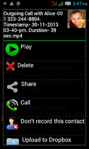 Automatic Call Recorder Pro screenshot 4