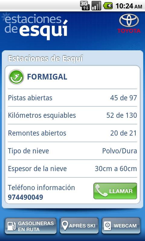 Estaciones de Esquí- screenshot