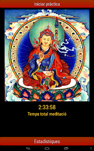 Shamatha meditation timer- screenshot thumbnail