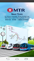 Screenshot of MTR Next Train