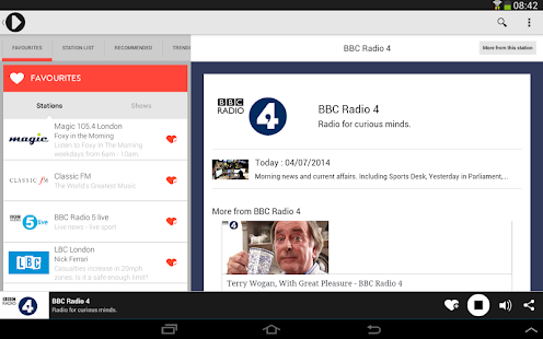Radioplayer - Free UK Radio - screenshot thumbnail
