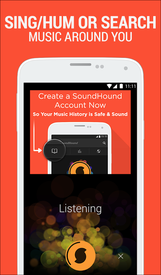SoundHound - screenshot