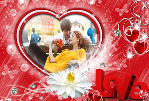 玩攝影App|浪漫的相框免費|APP試玩