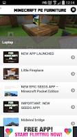 Screenshot of Furniture Ideas - Minecraft PE