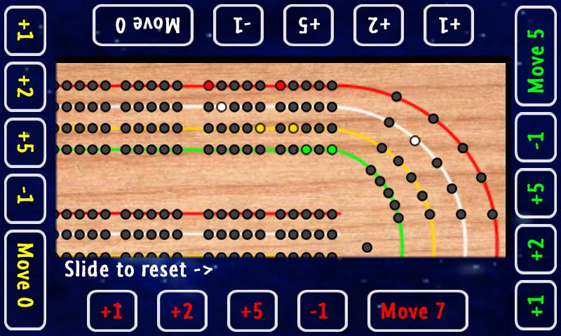 Cribbage Board - screenshot