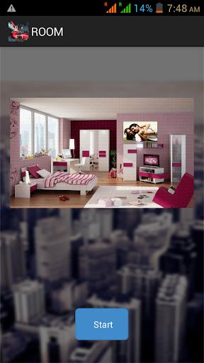 Room Design Frame Effect
