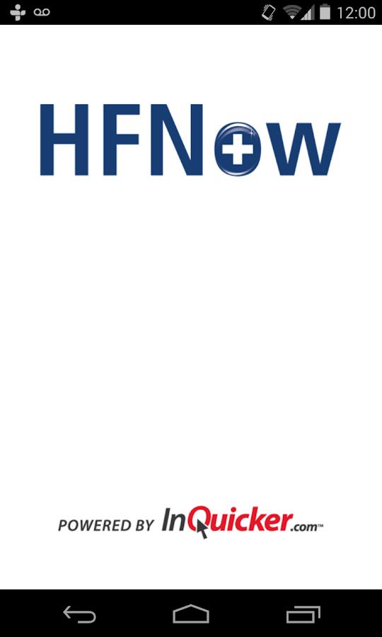 HFNow- screenshot
