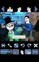 Screenshot of MeMeSelF