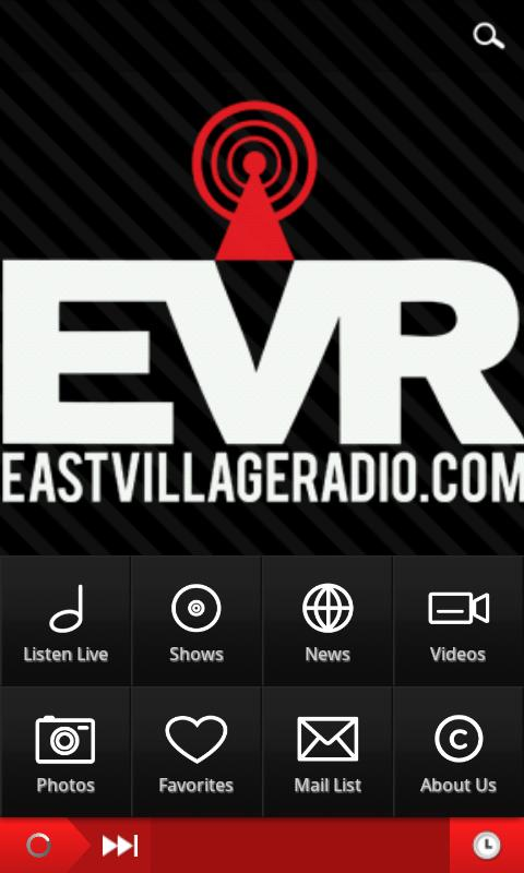 EVR Mobile - screenshot