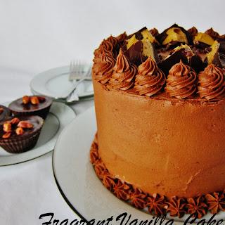 Vegan Peanut Butter Cup Cake