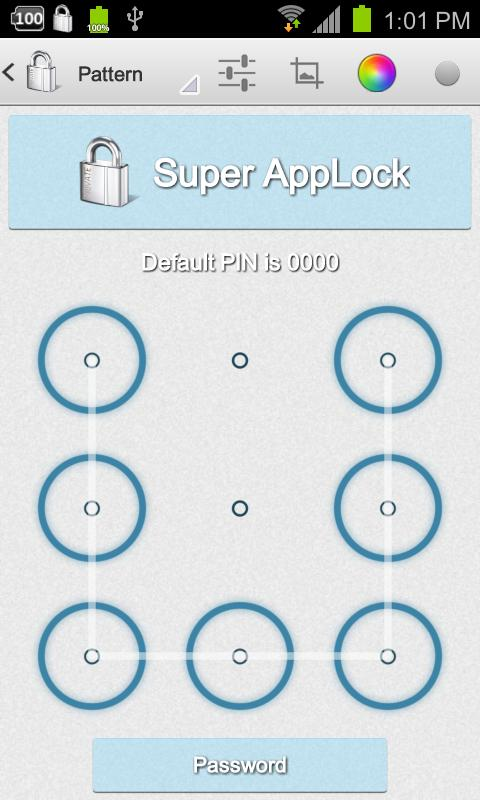 Super AppLock PRO Key- screenshot