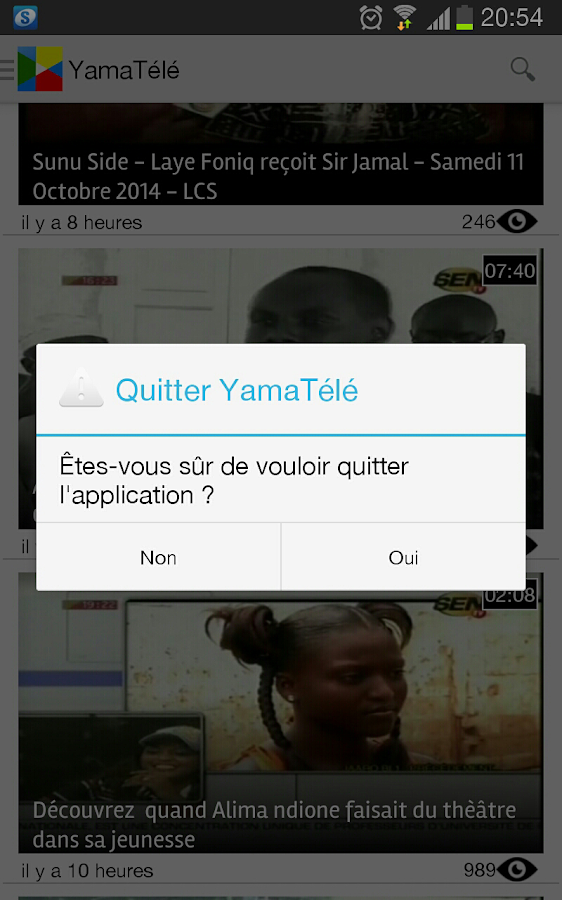 TV SENEGAL- screenshot