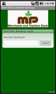 M&P Bank GoMobile Banking - screenshot thumbnail