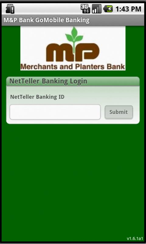 M&P Bank GoMobile Banking - screenshot