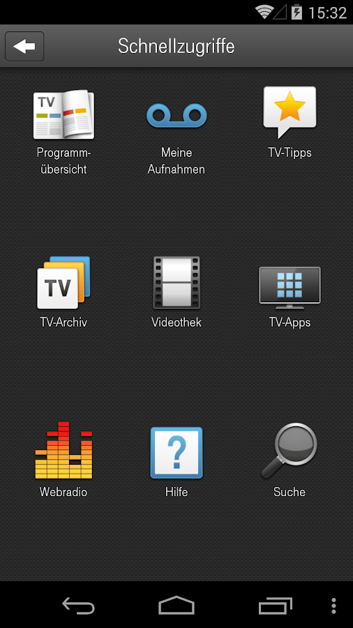 Entertain Remote Control - screenshot