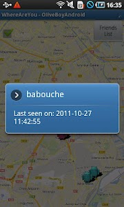FriendsLocator screenshot 2